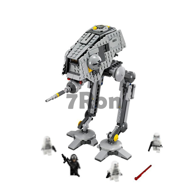 Rogue One imperial AT-ST Walker AT-DP star wars compatible with lego 75083 figures model Building Blocks brick diy toys gift kid 499pcs new space wars at dp robots 10376 model building blocks toys gift rebels animated tv series bricks compatible with lego