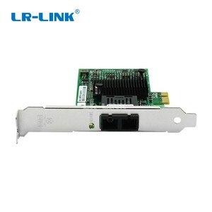 Image 3 - LR LINK 9260PF LX gigabit ethernet PCI Express adattatore di scheda di Rete in fibra ottica Per PC intel 82576 Compatibile E1G42EF NIC