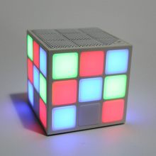 Cube Colorful Wireless Portable Bluetooth Speaker