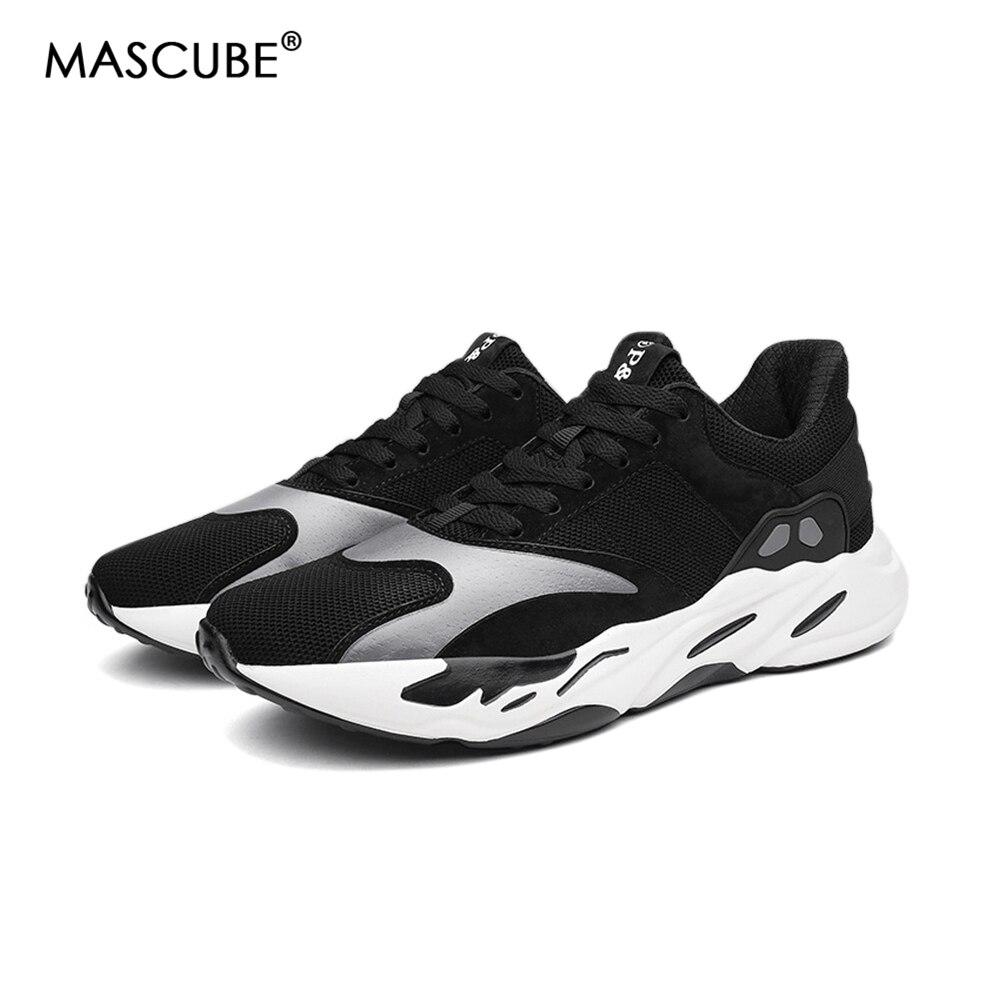Mascube Мужская обувь спортивные кроссовки дешевые 2018 бренд кроссовки дышащая обувь Za ...