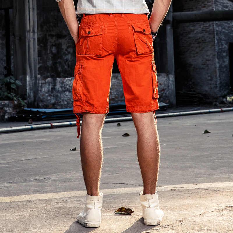 SD männer Cargo-Shorts 2019 Sommer Heißer Verkauf Männlichen Baumwolle Shorts Military Stil bermudas masculina Casual atmungsaktive Böden 354