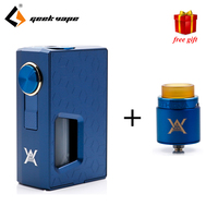 Free Gift GeekVape Athena Squonk Mod With 6 5ml Squonk Bottle Electronic Cigarette Weipa Support Squonk