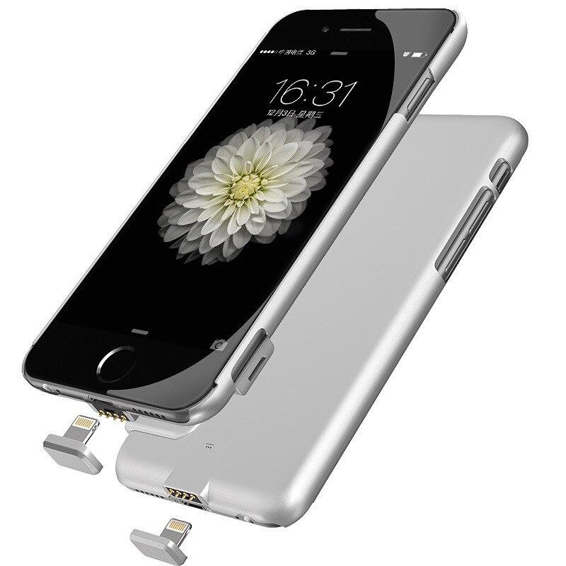 Цена за Для iphone 7 Батареи Дело Ультра тонкий Резервного Копирования Зарядное Устройство Чехол Для Apple iphone 7 Смарт Случае Банк силы