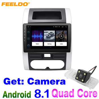 FEELDO 10.2inch Android 8.1 Quad Core Car Media Player With GPS Navi Radio For Nissan X-Trail Second generation Get:Camera