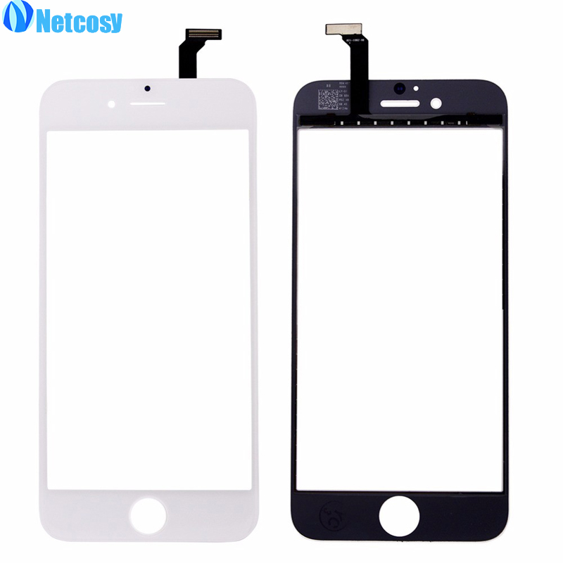 Netcosy For iphone 6 Touch Screen Digitizer panel Black touchscreen For iphone6 Replacement Repair Part for iphone 6 touch panel