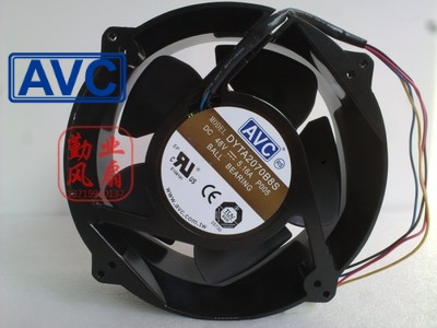 все цены на  AVC New 20070 48V 5.16A 20CM Full Metal fan DYTA2070B8S wind capacity 200*200*70mm  онлайн