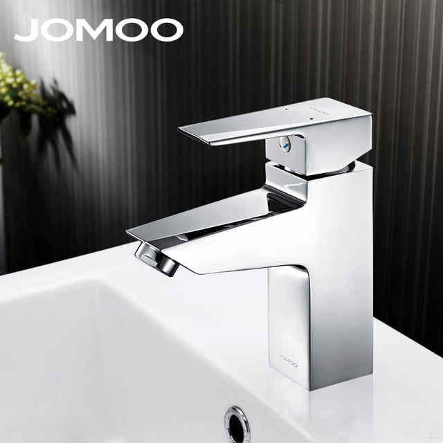 JOMOO bathroom faucet mixer tap chrome finish silicone brass ...