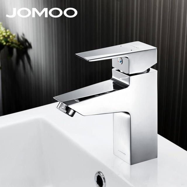 JOMOO salle de bains robinet mitigeur chrome finition silicone en
