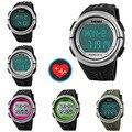 Esportes Relógio Pedômetro Heart Rate Monitor de Calorias Contador Digital Temporizador Relógio Relógio Ao Ar Livre Relógios de Pulso Para Mulheres Dos Homens