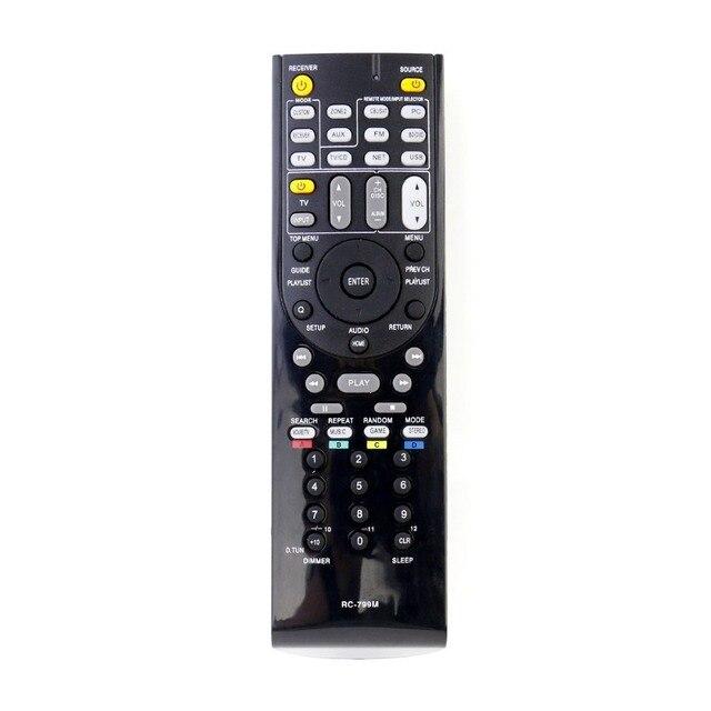 שלט רחוק עבור Onkyo AV מקלט TX NR737 RC 879M RC 880M TX NR636 HT RC660 RC 866M TX NR5007 TX SR308 HT RC180 PR SC5507