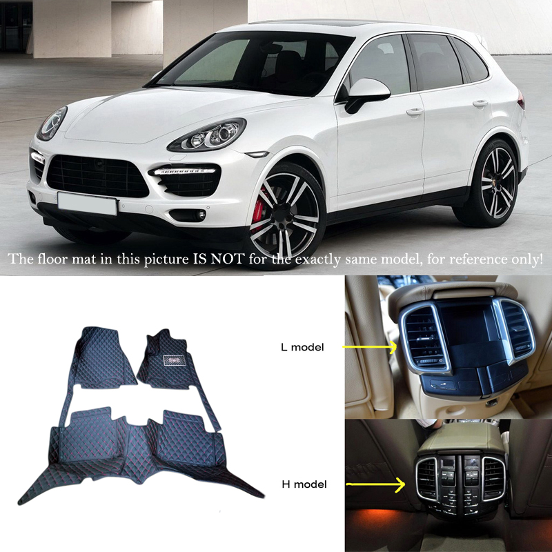 Car Interior Front&back Floor Mats And Carpets Protector Cover For Porsche Cayenne 2011-2016 180 16 9 fast fold front and rear projection screen back