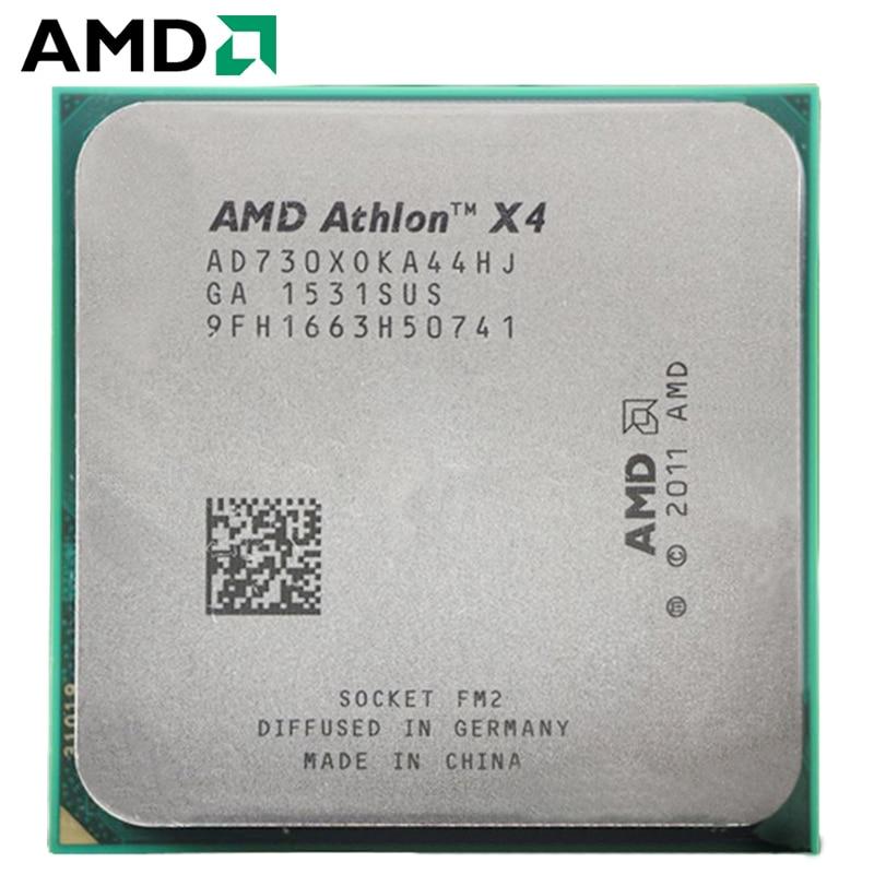 AMD Athlon II X4 730 Socket FM2 65W 2.8GHz 904-pin Quad-Core CPU Desktop Processor X4 730 Socket Fm2