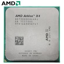 AMD Athlon II X4 730 разъем FM2 65 Вт 2,8 ГГц 904-pin четырехъядерный процессор cpu настольный процессор X4 730 разъем fm2