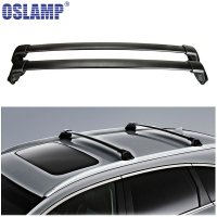 2x Universal Lightweight Aluminum Car Roof Rack Cross Bar Kayak Snowboard Bike Carrier Basket Luggage 93