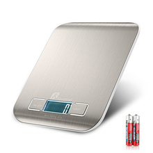 LCD Electronic Kitchen Scales balance Cooking Measure Tools Digital Stainless Steel 10000g/1g Weighing Food scale ON SALE oman t230 25kg 1g electronic weigh food scale kitchen digital weighing scales hand industrial weighing scale with back light