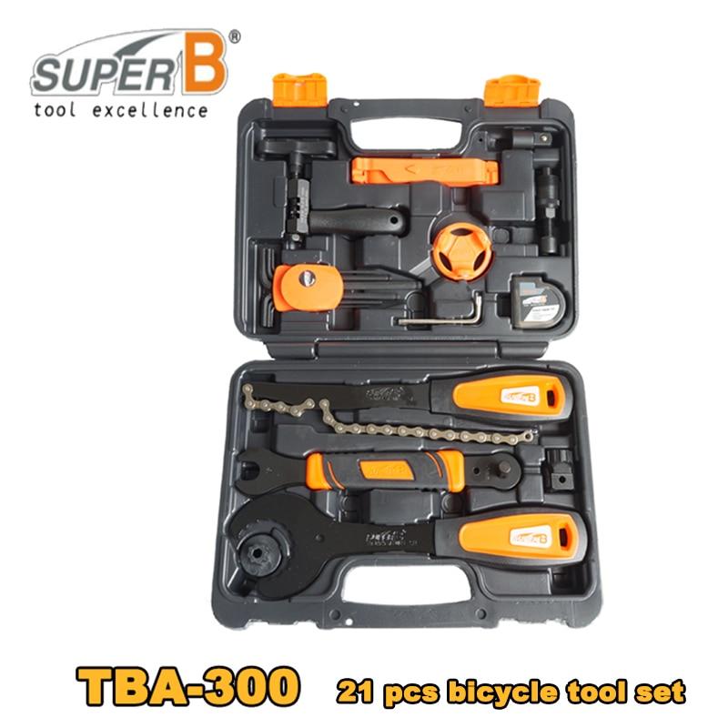 Super B Classic TBA300 Professional Bike Bicycle Cycling 21pcs Tool Kit Set