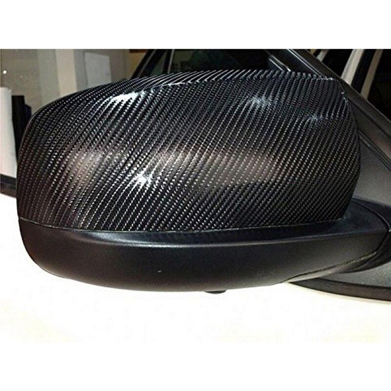 152x20cm Car Interior Sticker 4d Carbon Film Self Adhesive Carbon Fiber Design Uv Protected 5 Color Auto Decoration Sticker