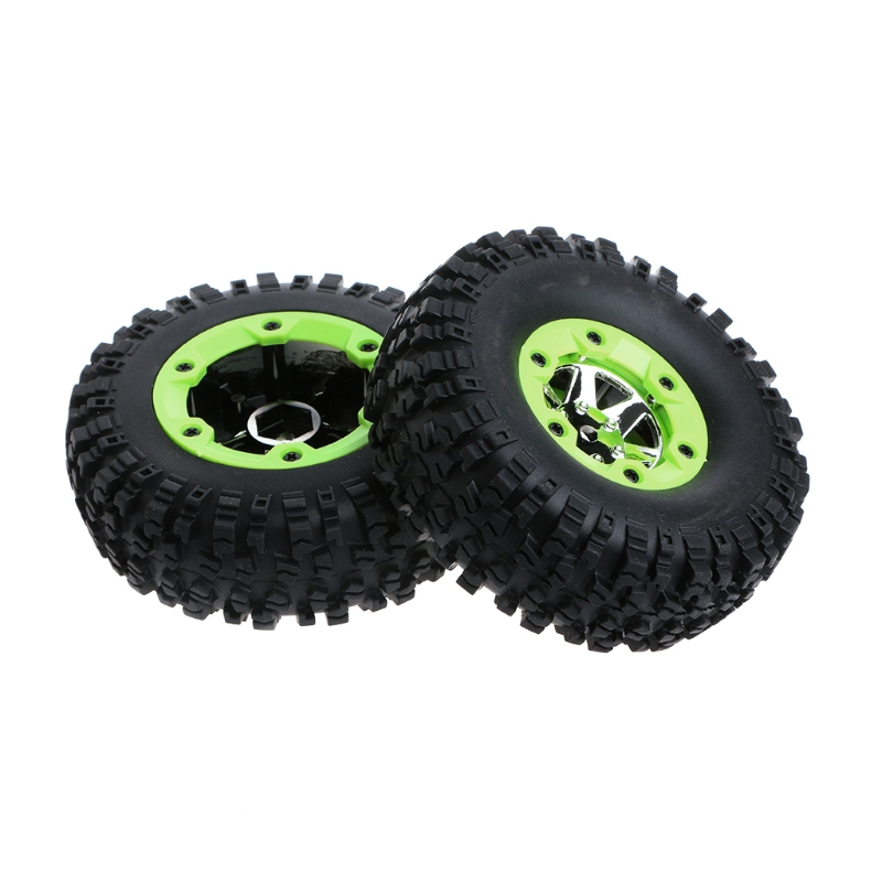 1Pair Parts For Wltoys 12428 12423 <font><b>1/12</b></font> <font><b>RC</b></font> Car Spare Parts Left <font><b>Wheels</b></font> Tires Replacement image