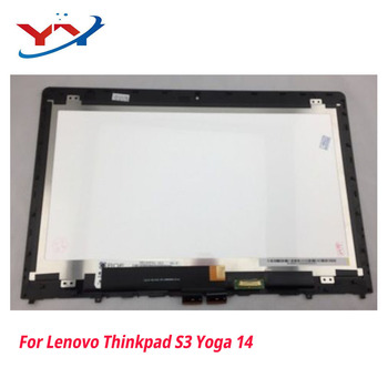 Free shipping For Lenovo thinkpad S3 Yoga 14 1920x1080 touch with LCD screen display assembly