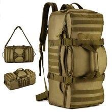 60 L waterproof backpack army  trend School bag leisure pocket book laptop computer backpack