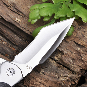 VOLTRON V21 V22 Folding Pocket Knife 9cr18mov blade G10 Handle Ball Bearing Outdoor Camping Hunting Tactical Survival EDC Tools 2
