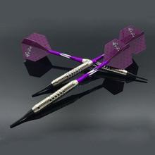 3pcs/set Professional Soft Dart 18g Tip Darts with Aluminum Alloy Shaft