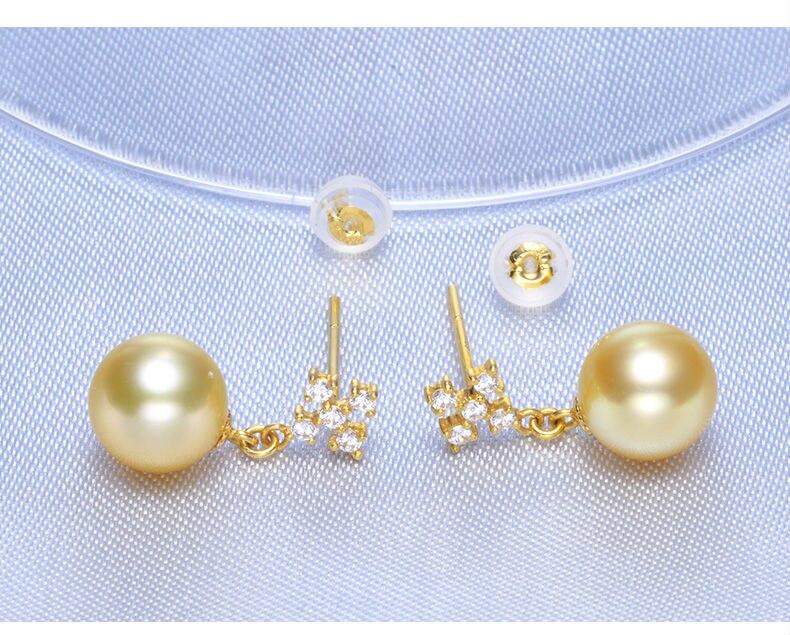 gold pearl earrings jewelry 33