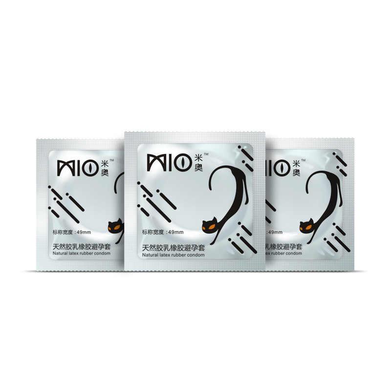 Mio 30 Pcs G Spot Spike Dihiasi Ribbed Penundaan Kondom untuk Pria Mint Aroma Kondom Intim Barang Penis Mencakup untuk beberapa Mainan Seks