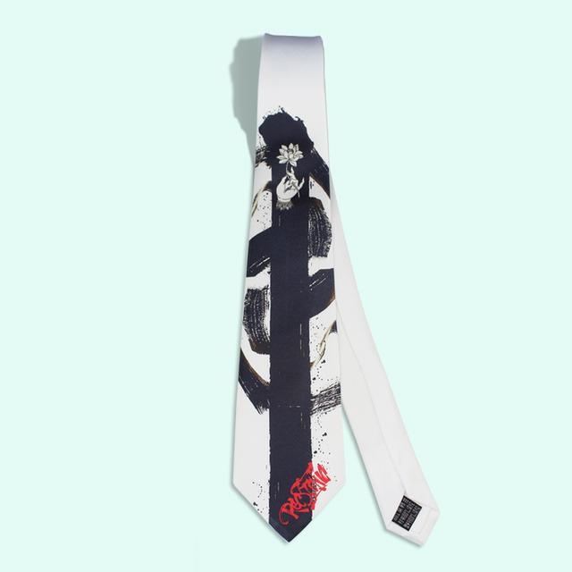 2016 impresión de tinta y lavado del novio corbata corbatas hombre boda mariage kravat masculino diseñador de la vendimia étnica pintura delgada corbata