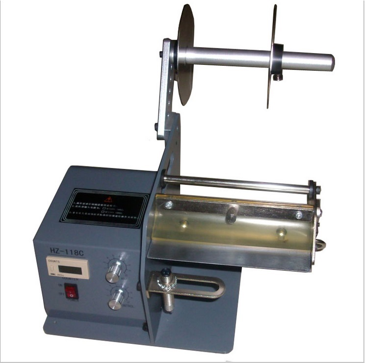 FTR-118C Direct manufacturers, Auto label dispenser,Automatic counting label dispenser machine x 100 automatic labeler dispenser label stripping machines labeler dispenser 250mm max dia
