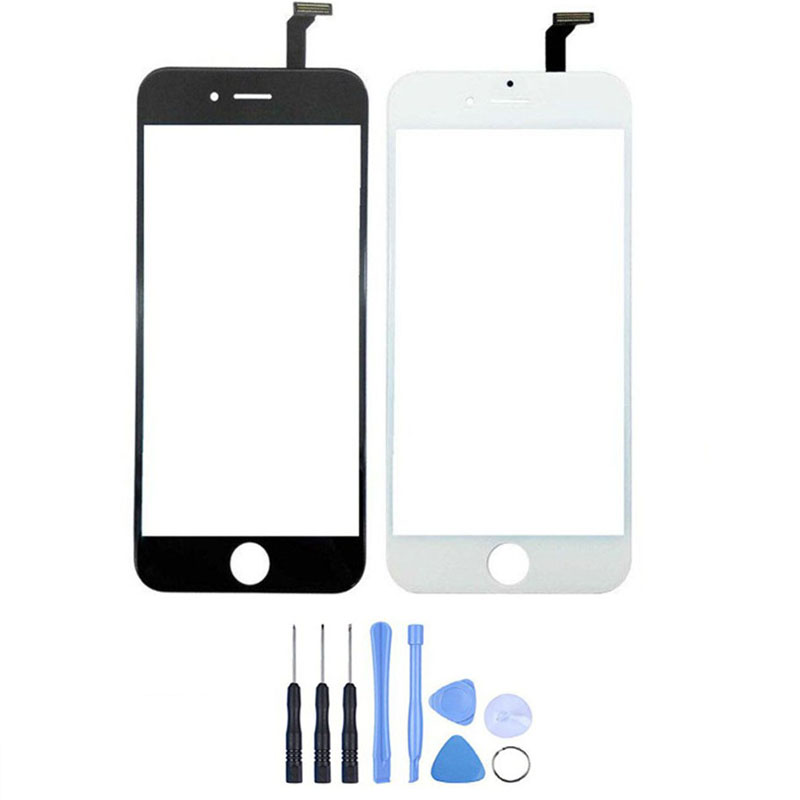 New Touch Screen Digitizer For iPhone 6/6 Plus Front Glass Lens Panel With Sensor Replac ...