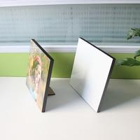 2 stücke Blank Sublimation MDF Foto Platte 15x20cm Tag DIY Geschenk Druck Sublimation Tinte Transfer Druck|3D Druck-Materialien|   -