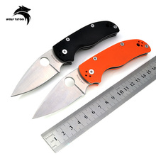 C41 Hunting Knife Tactical Survival Combat Outdoor Camping EDC Pocket Knives Utility Portable Multi Tools D2 Blade G10 Handle