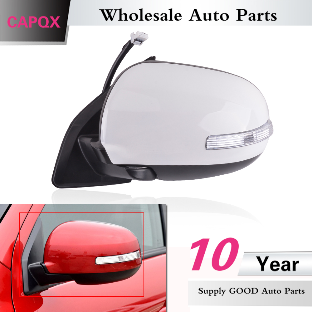 MITSUBISHI ASX 2010-2013 RIGHT outside wing mirror with heating auto folding