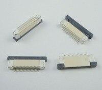 100 Pz 0.5mm-18 P Modalità Cassetto Basso Tipo di Contatto Pin 0.5mm Passo FFC FPC Connettore per l'interfaccia dello schermo LCD di MP3/DVD/Telefono