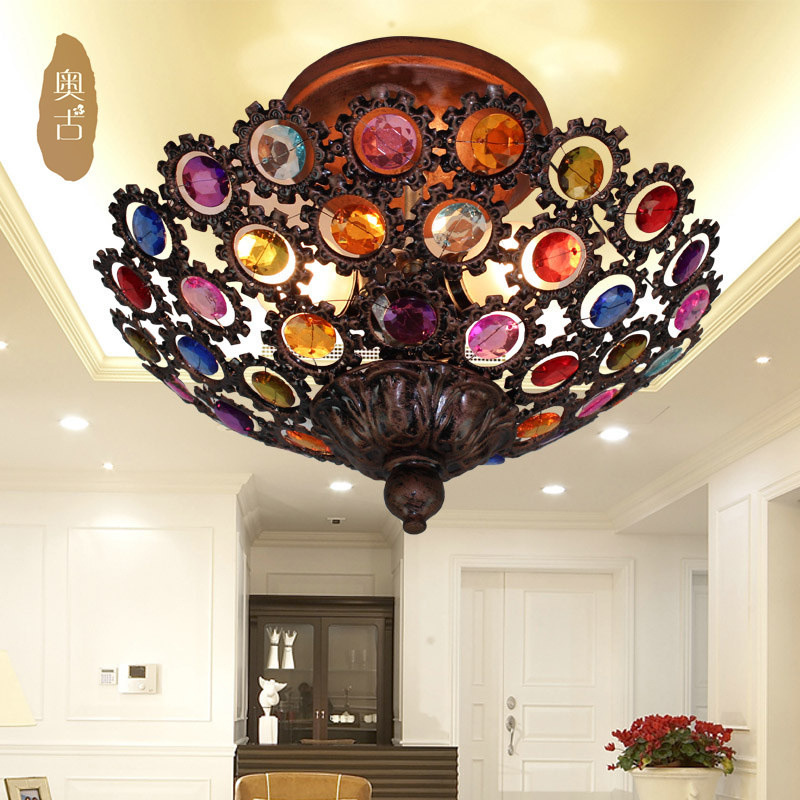 [ Augustine ] American Country Porch Ceiling Lights