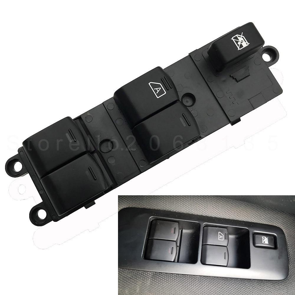 25401-BB65B Power Window Master Switch for Nissan Pathfinder Navara D40 Qashqai