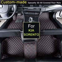 For KIA Sorento 2004~2008 / 2009~2012 / 2013~2014 / 2015~ Car Floor Mats Custom Carpets Car Styling Customized Specially Made