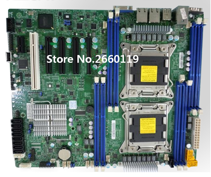 Server motherboard for X9DRL-IF LGA2011 X79 mainboard Fully tested