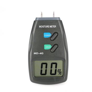 4-контактный цифровой ЖК-дисплей измеритель влажности древесины анализатор гигрометр детектор влажности древесины Диапазон Тестер 5%-40%