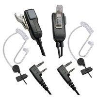 מכשיר הקשר מיקרופון אפרכסת מכשיר הקשר Headset לקבלת Kenwood במשך Baofeng רדיו התקנים 2Pin (1)