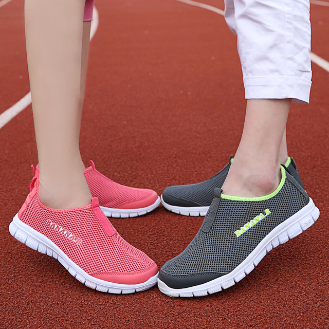 New Summer Mesh Casual Shoes Slip