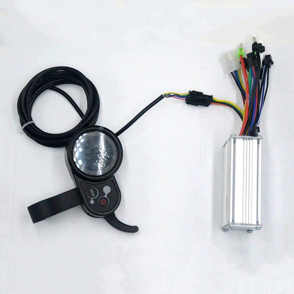 24 V/36 V/48 V 250 W 350 W boîte de contrôleur ebike contrôleur d'affichage de vitesse BLDC travail dans le hall capteur/hall capteur sans capteur pour e vélo scooter