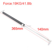 140mm Stroke 19KG 41 8lb Force Lift Strut Prop Damper Auto Gas Spring In Spings For
