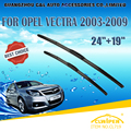 "Escovas Para OPEL VECTRA (2003-2009) 2004 2005 2006 2007 2008 Car Windscreen Windshield Wiper Blade 24 ""+ 19"" carros acessórios"