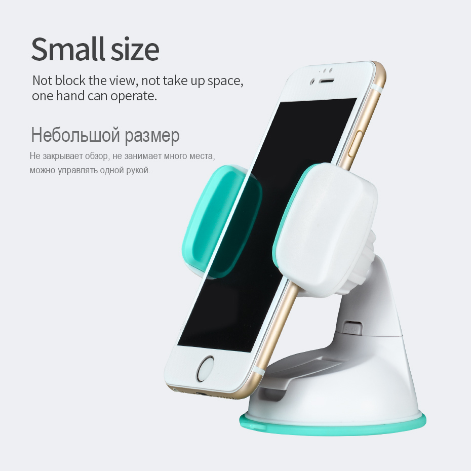 Aliexpress com buy hoco car holder 360 degree rotating suction windshield mount stand for iphone samsung xiaomi universal clip for mobile phones from