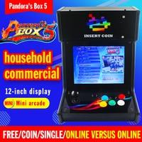 Pandora Box5 Mini Table Top Arcade With Classical Games 960 In 1 PCB/Mini Arcade Game Machine Play a Coin Game