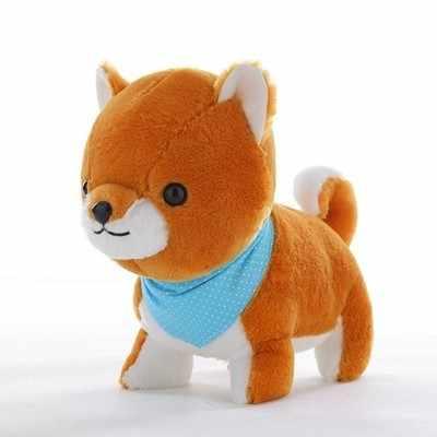 Симпатичные 1 шт. большой Amuse собака 3 Brothers Плюшевые Игрушечные лошадки Шиба ину игрушка высокое качество Мягкие ЛОЯЛЬНЫЕ ПЭТ Kawaii щенок дети подарки на день рождения
