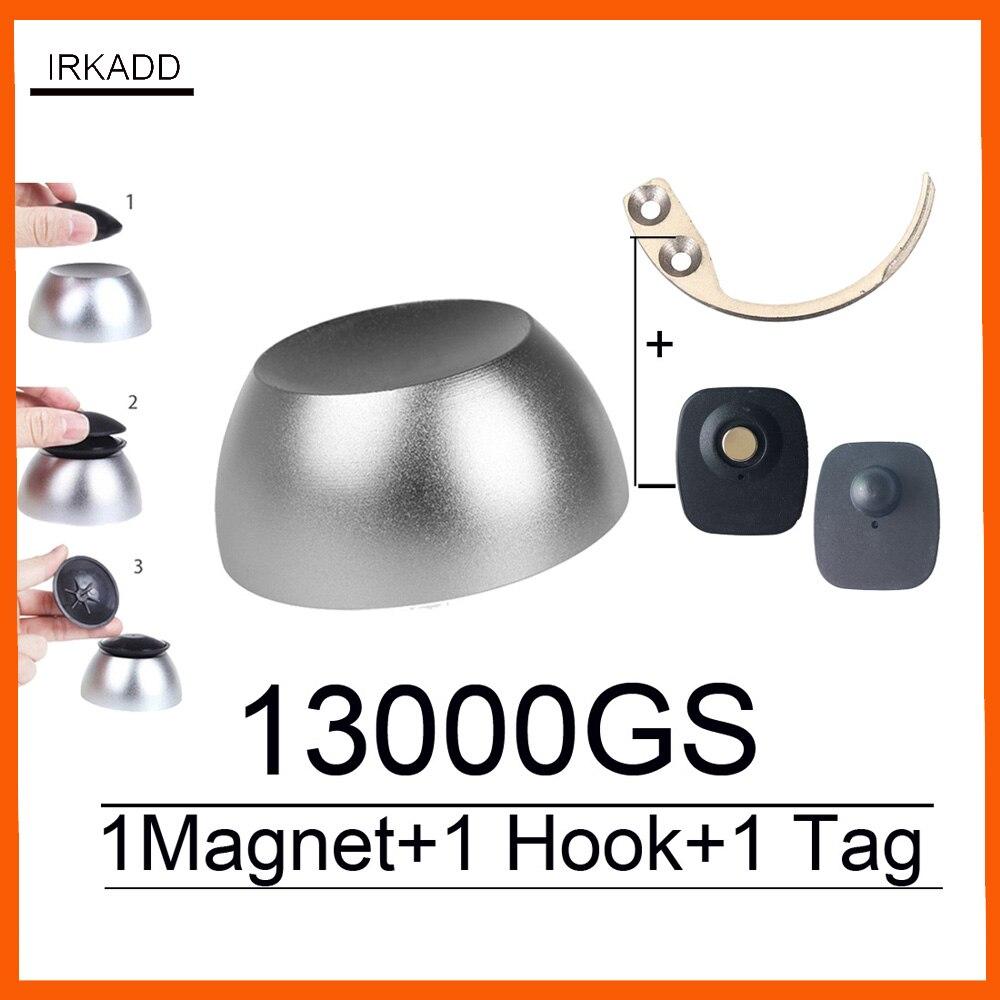 13000GS universal magnetic golf detacher magnet security tag remover for eas system mini hook detacher pocket handheld detacher