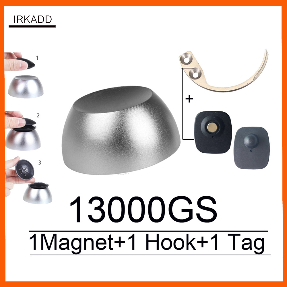 13000GS universal magnetic golf detacher magnet security tag remover for eas system mini hook detacher pocket handheld detacher